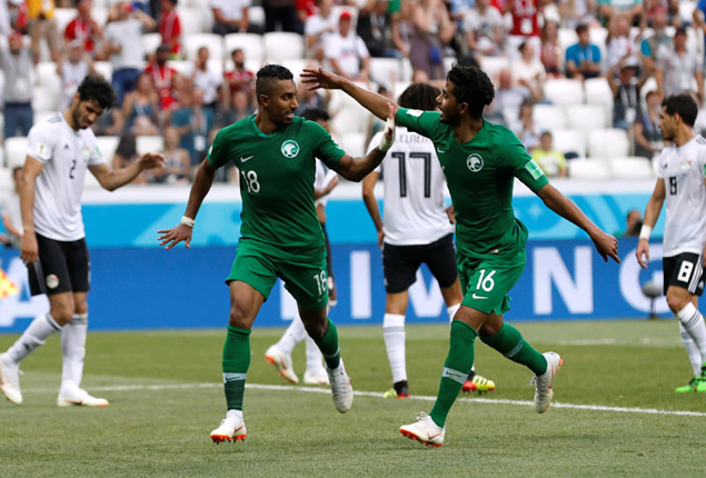 PHOTO GALLERY: Egypt lose 2-1 to Saudi Arabia at World Cup