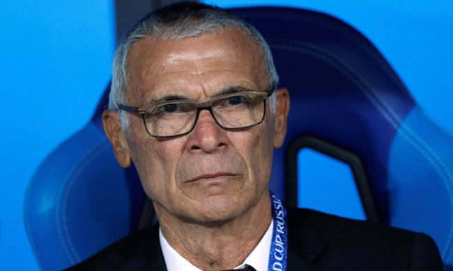 Egypt coach Hector Cuper