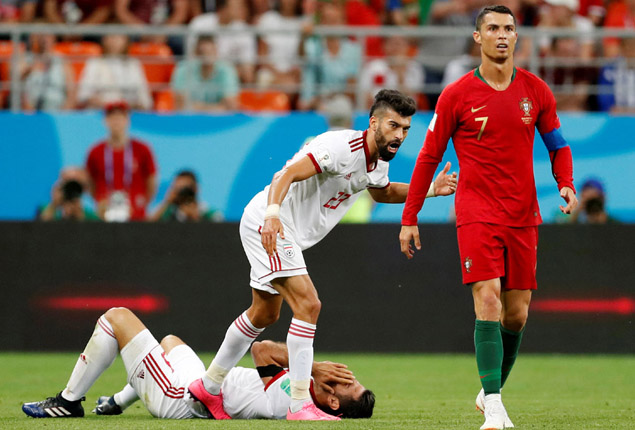 PHOTO GALLERY: Portugal held by Iran in World Cup