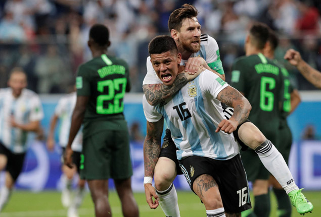 PHOTO GALLERY: Nigeria exit World Cup after late defeat by Argentina