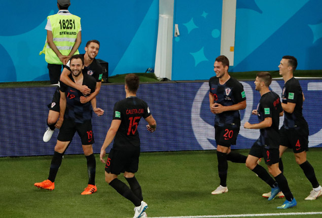 PHOTO GALLERY: Croatia make it three wins out of three in World Cup