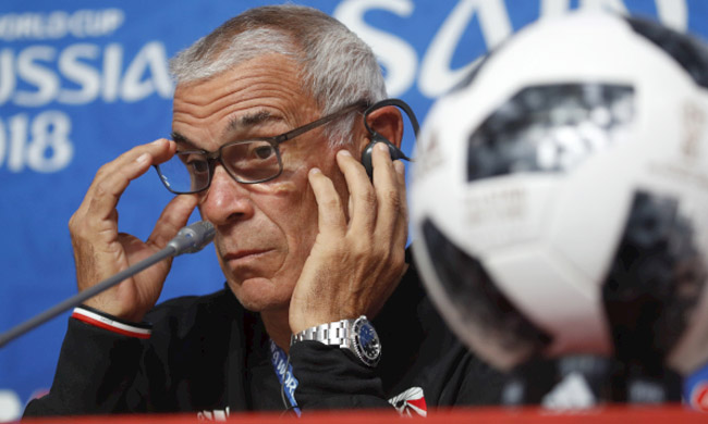 Egypt head coach Hector Cuper