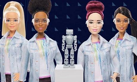 Robotics Barbie by Mattel