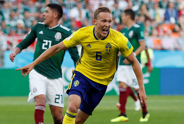 PHOTO GALLERY: Sweden through to last 16 with 3-0 win over Mexico