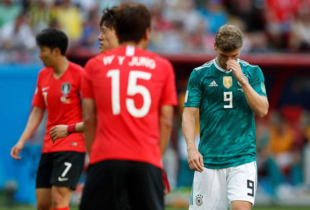 PHOTO GALLERY: Germany shocked by South Korea to exit World Cup