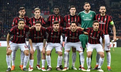 AC Milan team group