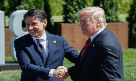 Donald Trump - Giuseppe Conte