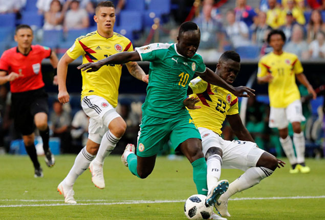 PHOTO GALLERY: Senegal lose to Colombia and exit World Cup