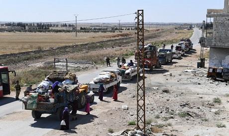 Abu Al-Zohour checkpoint, Syria