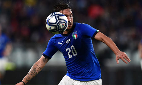 Italian forward Simone Verdi (Reuters)