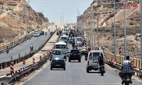 Hama-Homs Highway