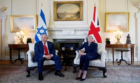 Theresa May, Benjamin Netanyahu