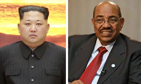 North Korean leader Kim Jong Un   and  Sudan
