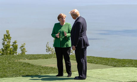 Merkel: Russia can not return to G7 until progress made