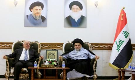 Haider al-Abadi, Moqtada al-Sadr