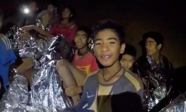 Rescued Thai soccer team