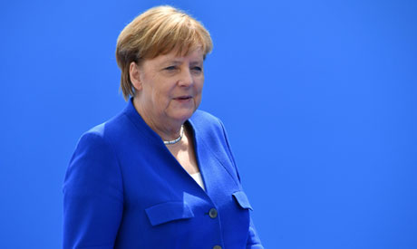 German Chancellor Angela Merkel (AFP)