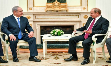 Netanyahu, Putin