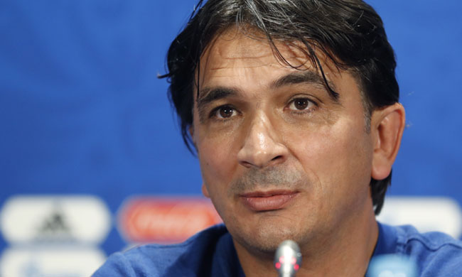 Croatia head coach Zlatko Dalic (Reuters)