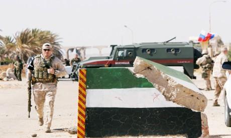 Nasib border, Deraa
