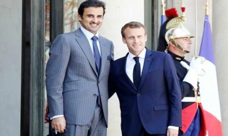 Tamim , Macron