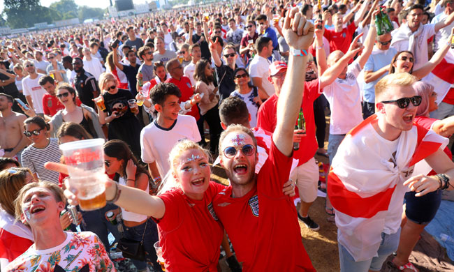 Federation Internationale de Football Association warns FA about behaviour after England's semi-final with Croatia
