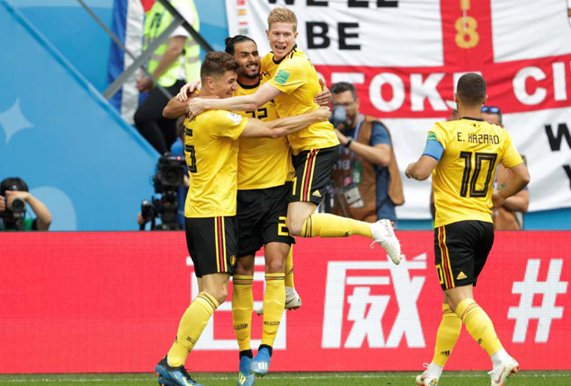 PHOTO GALLERY: Belgium makes history after finishing third in 2018 World Cup