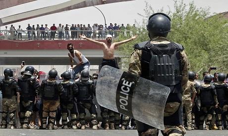 Iraqi riot police