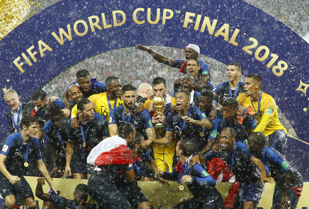 PHOTO GALLERY: France crowned World Champions after Croatia win