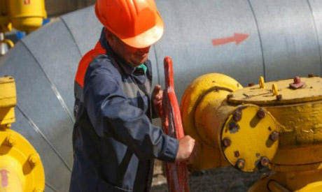 Russia and Ukraine gas supply tension
