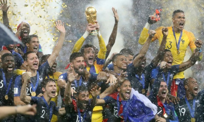 France hits back at US TV show host over make-up of World Cup team