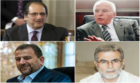 Officials leading the Palestinian reconciliation