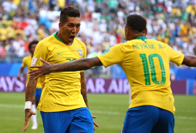 PHOTO GALLERY: Brazil beat Mexico 2-0 to reach World Cup quarters