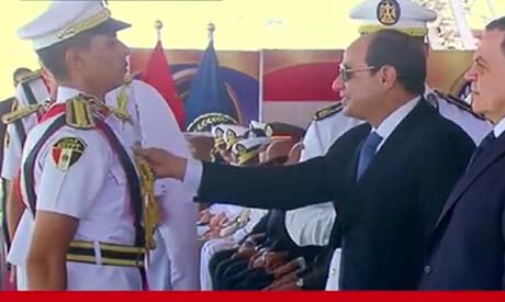 Sisi at police academy