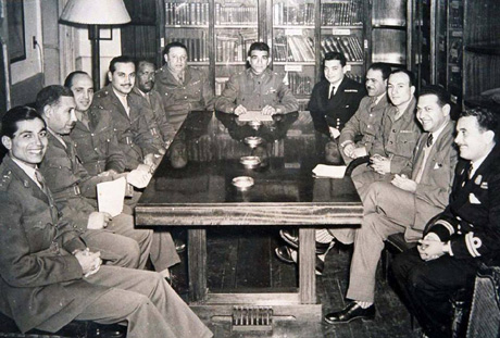 Naguib and Free officers
