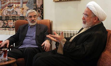 Mousavi , Karroubi