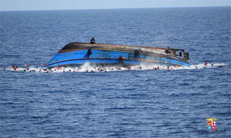 migrants shipwreck
