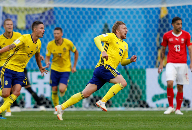 PHOTO GALLERY: Sweden through to last eight after narrow win over Switzerland