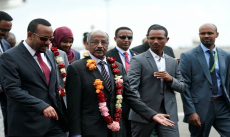 Abiy Ahmed, Osman Saleh