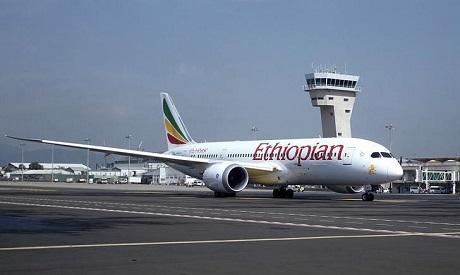 Ethiopian Airlines plane