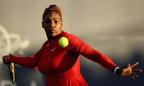 Serena Williams of the United States (Reuters)