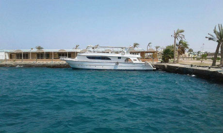 Boat in Red Sea