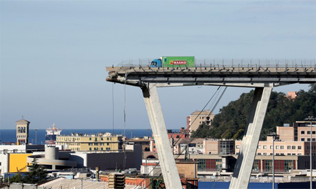 Italy bridge operator focus of anger as collapse death toll rises to