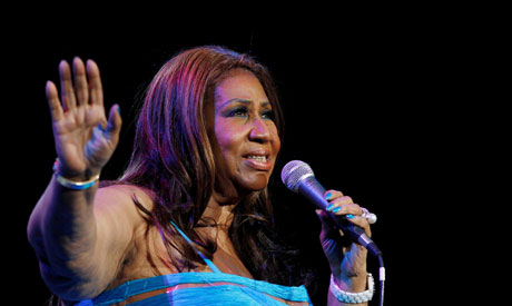 Singer Aretha Franklin performs at Radio City Music Hall in New York in this February 17, 2012. (Reu