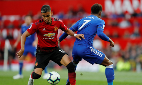 Andreas Pereira earns Brazil call-up