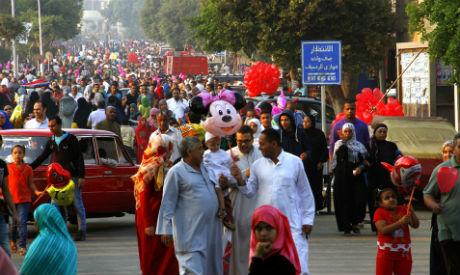 Egyptians celebrate Eid Al-Adha