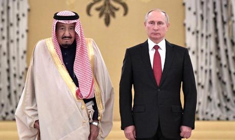 King Salman Putin