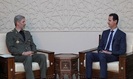 Amir Hatami, Bashar al Assad