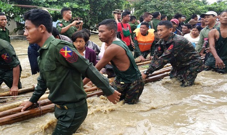 Flooding in Swar