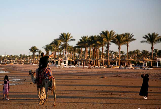 PHOTO GALLERY: Tourists enjoy the Aqaba Gulf in the Red Sea resort of Sharm El-Sheikh